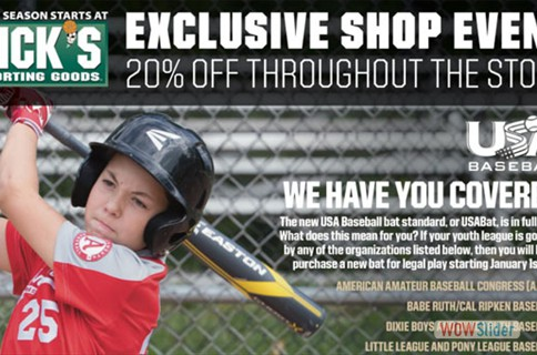 Shop Event at Dicks Sporting Goods 9/1-9/2